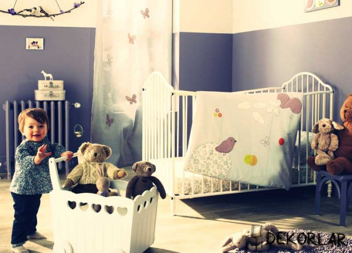 Bebek Odası Dekorasyonu - 4