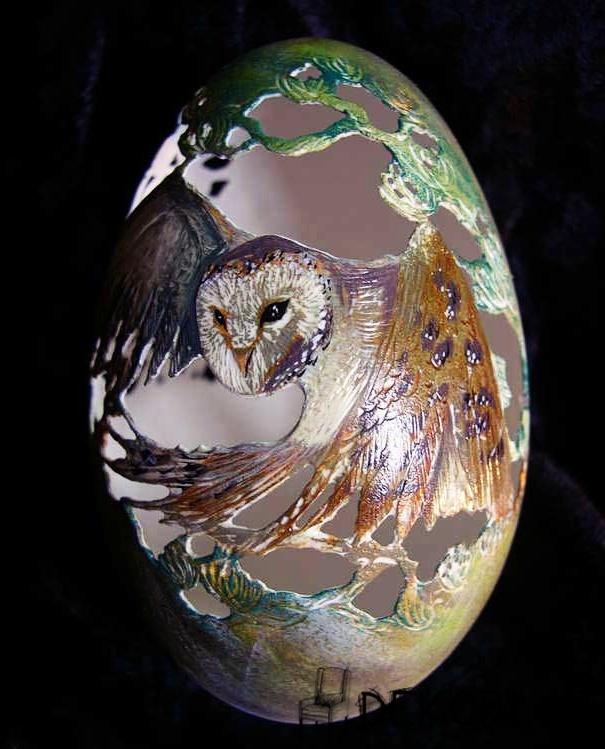 Figür İşlemeli Yumurta - 1
