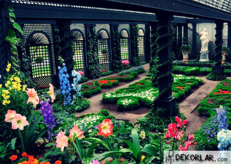 Kış Bahçesi Dekorasyon Fikirleri - 1