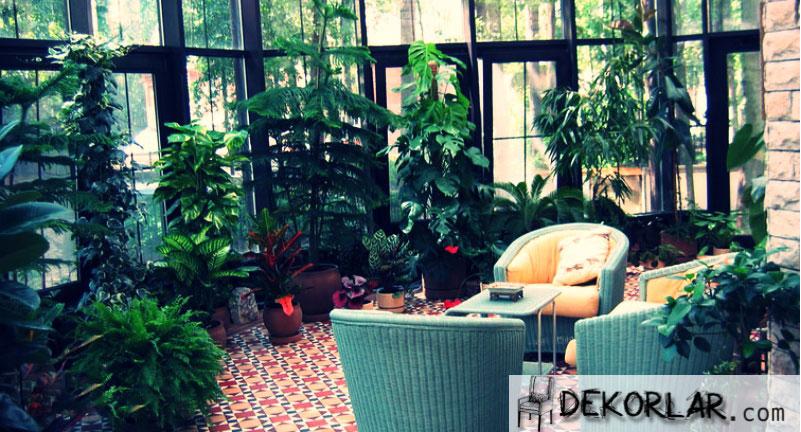 Kış Bahçesi Dekorasyon Fikirleri - 5
