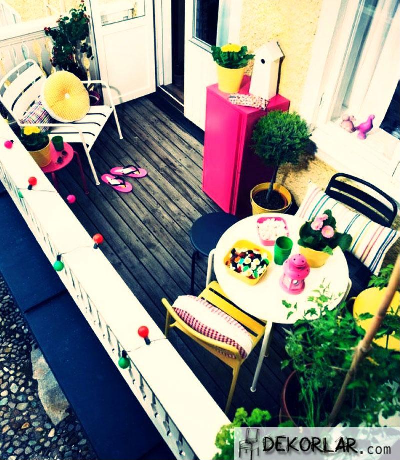 Küçük Balkon Tasarımları - 3