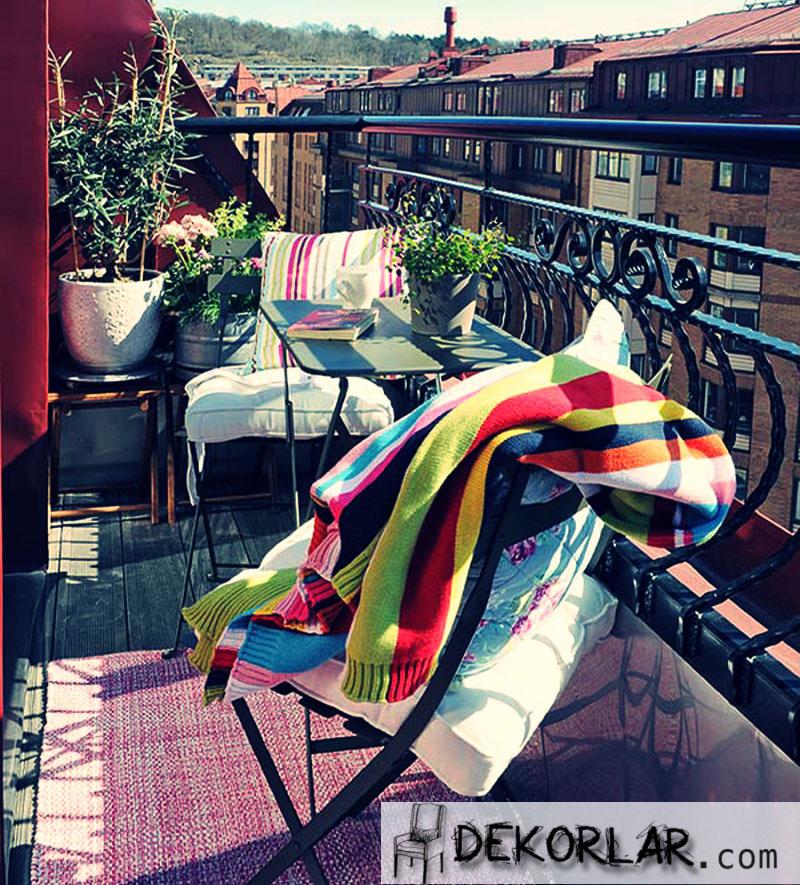 Küçük Balkon Tasarımları - 4