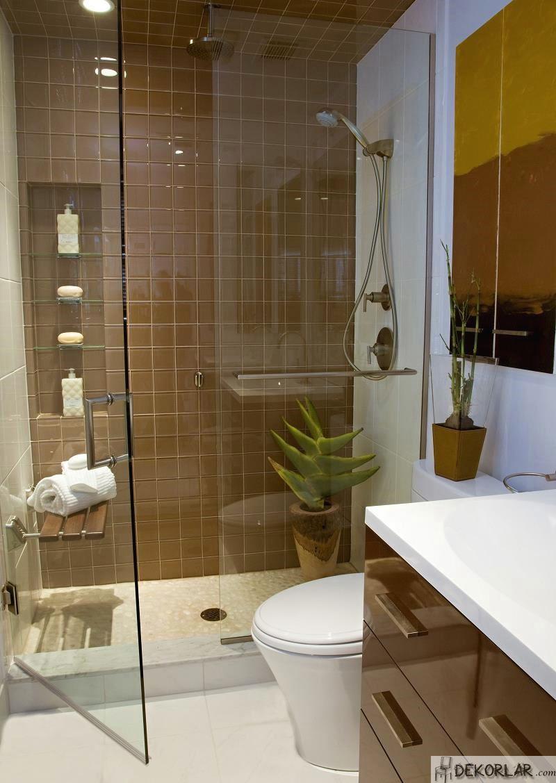 Küçük Banyo Dekorasyon Modelleri - 15