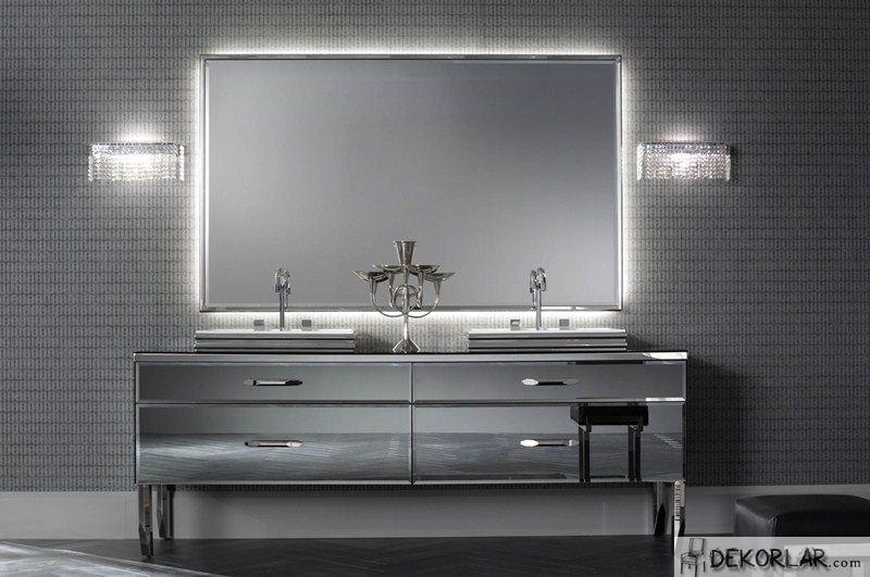 Lüks Banyo Dolabı Modelleri - 12