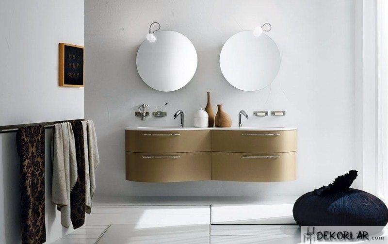 Lüks Banyo Dolabı Modelleri - 8