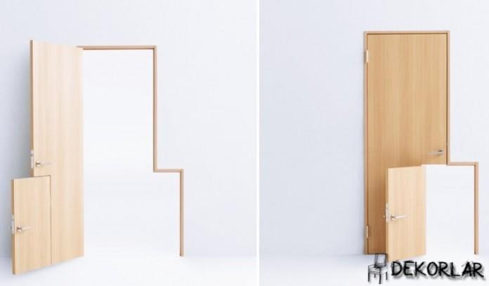 Bebek Geçişli Kapı Modeli