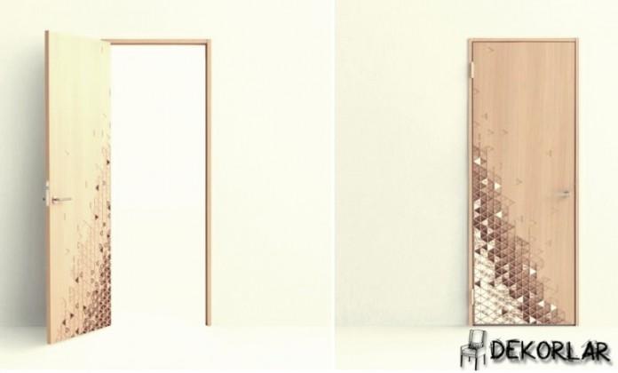 Desenli Kapı Modeli