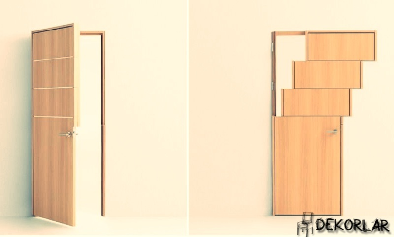 Yana Kayan Kapı Modeli