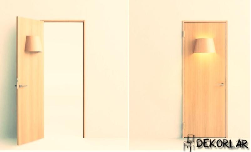 Lambalı Kapı Modeli