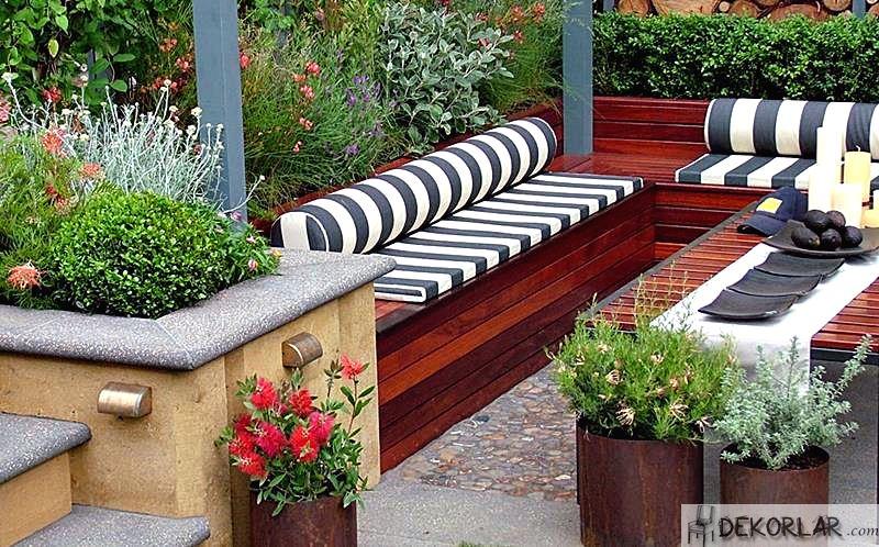 Bahçe Dekorasyonu Fikirleri 4