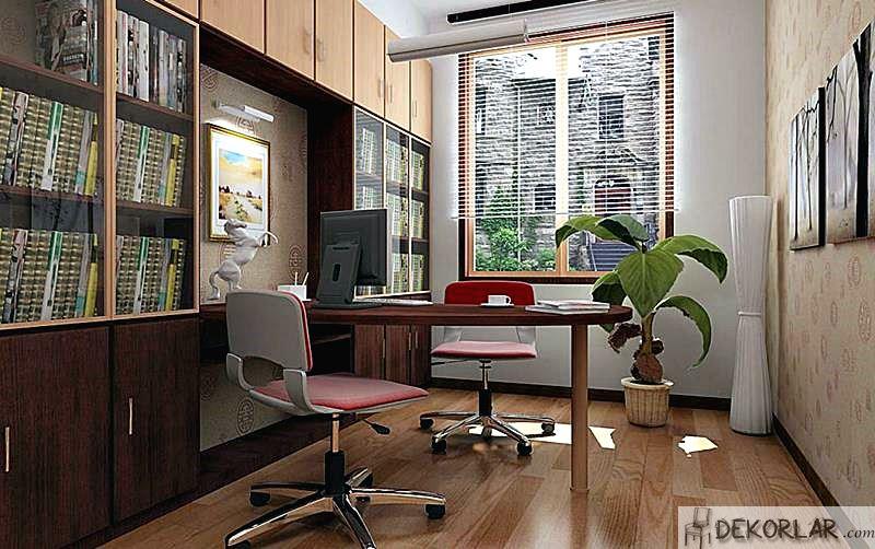 Çalışma Odası Tasarımları - 12