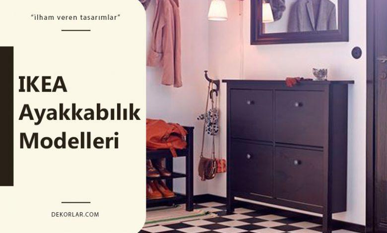 IKEA Ayakkabılık Modelleri İle Her Şey Tertipli